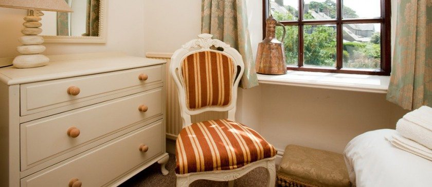 Image of the single bedroom at Bridgelands Cottage