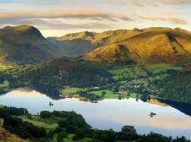 View of Ullswater lake