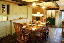 Luxury cottage kitchen