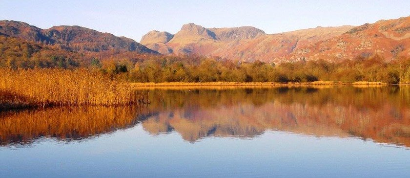 The Langdale Pikes, Cumbria