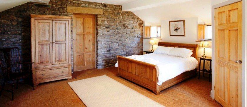 King Sized En-Suite Bedroom at Rose Farm