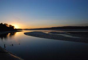 Sunset at Arnside