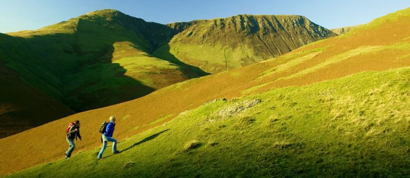 Image of walking in Newlands Valley