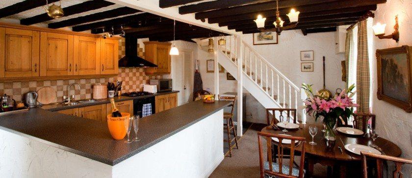 Image of the kitchen in Bridgelands Cottage