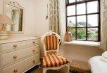 The single Bedroom at Bridgelands Cottage