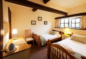 Twin Bedroom at Carree Cottage