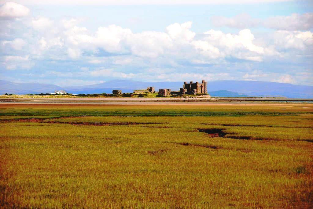 Piel Castle, Morecambe Bay