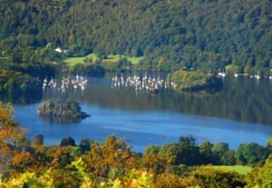 Image of Lake Windermere in summer
