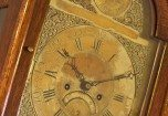 Image of an antique grandfather clock