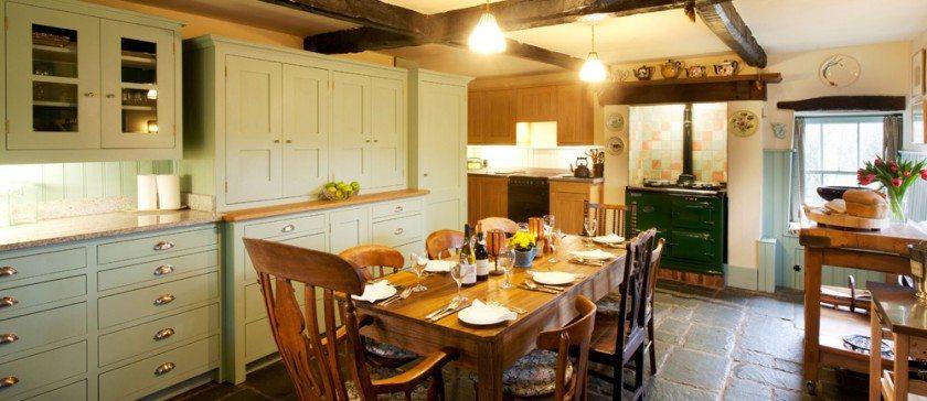The Large Shaker Style Kitchen