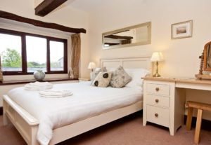 The Double Bedroom at Carree Cottage