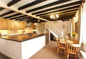Kitchen/Dining Room at Bridgelands Cottage