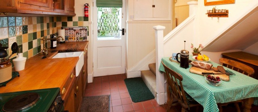 The Kitchen at Shamrock Cottage