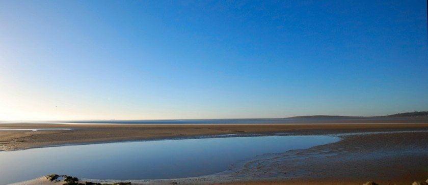 Morecambe Bay near Cark in Cartmel