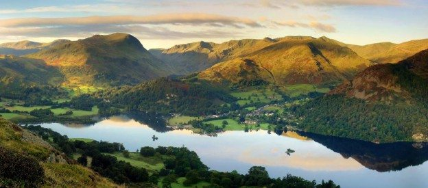 Lovely view of Ullswater Lake