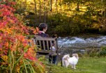 Lady by the River Crake