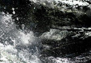 Black & White River Image