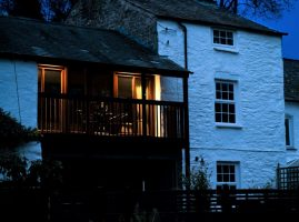 Image of Sawmill Cottage at Dusk