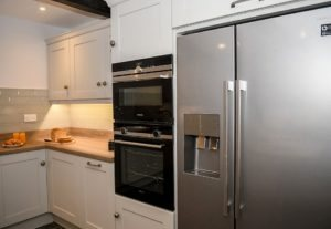 The Double Oven and Large Fridge Freezer