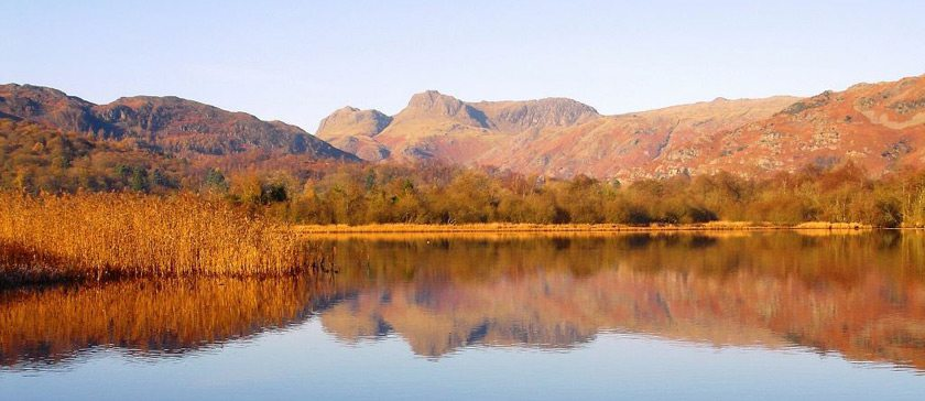 Image of the Langdale Pikes