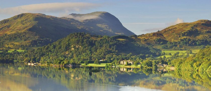 Image of Ullswater and a boathouse