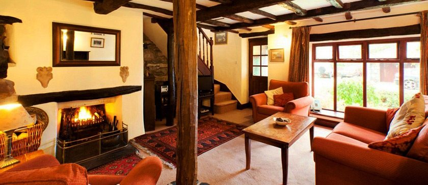 Carree Cottage sitting room