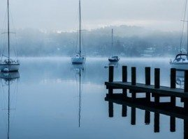 Misty morning at Windermere