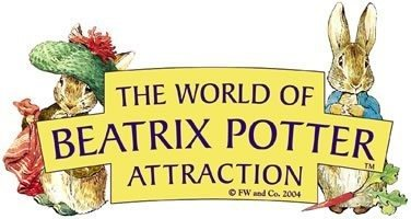 The logo for The World of Beatrix Potter