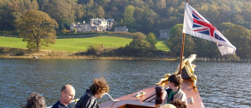 Getting the boat to Brantwood