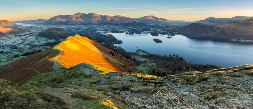 Image of Catbells mountain in Winter