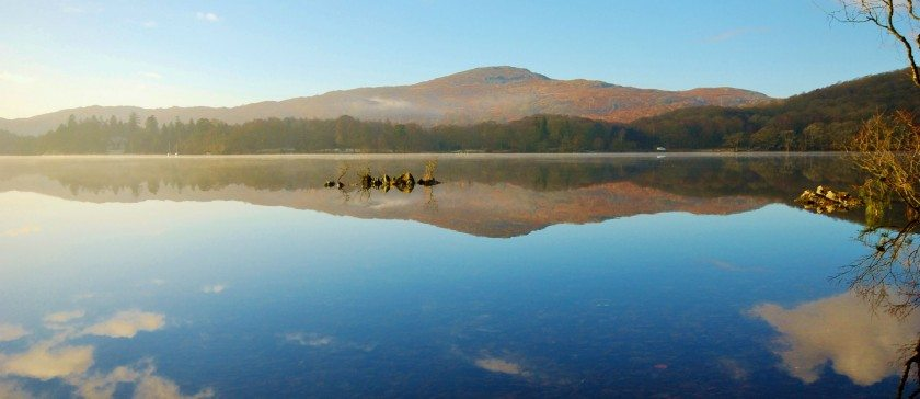Image of Coniston Water on a December morning