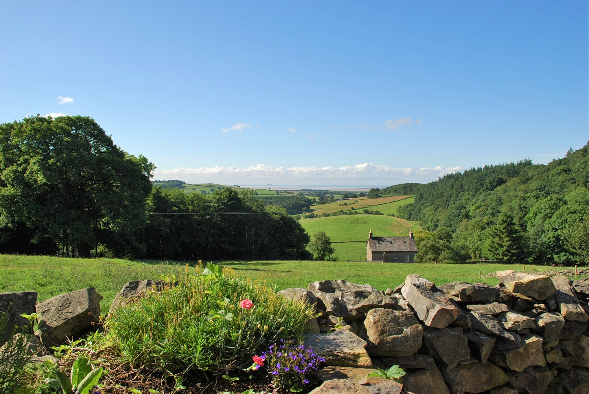 Wow, what a view. The view from Cartmel Hill