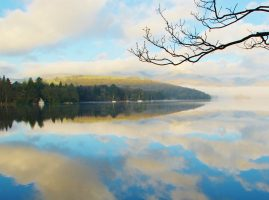 Reflection on Coniston Water