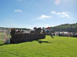 Horse racing at Cartmel 2016