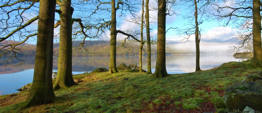 High Peel on Coniston Water