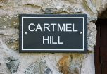 The Sign outside Cartmel Hill