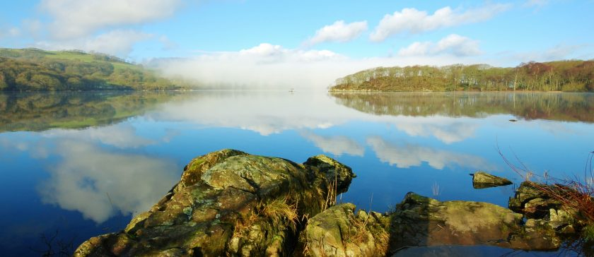 Coniston Water on a Winter's morning