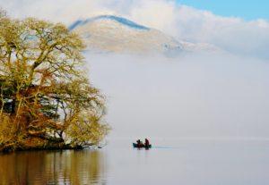 Kayaking on Coniston