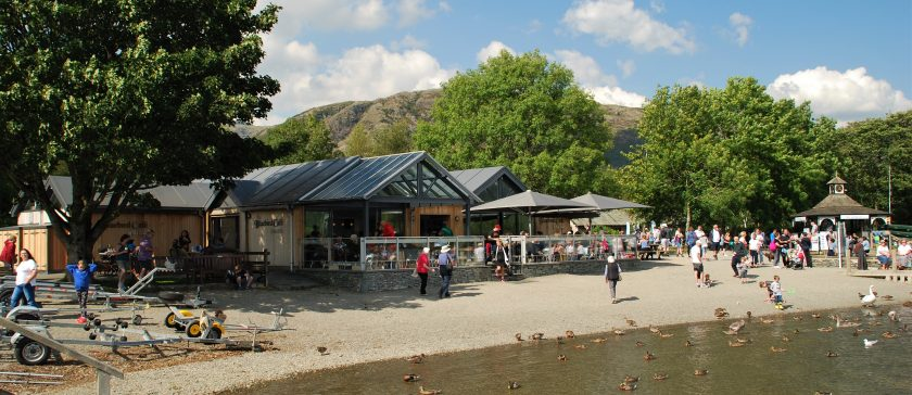 The Bluebird Cafe, Coniston Water