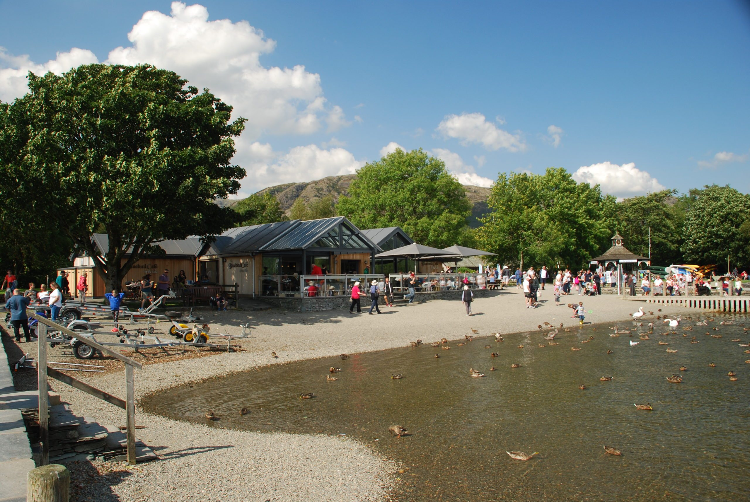 Image of Bluebird Cafe at Coniston Water