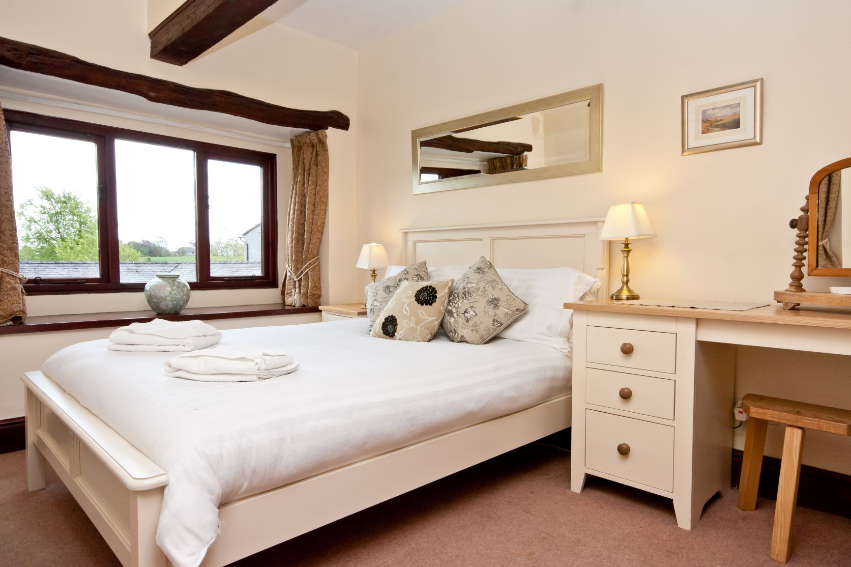 Double bedroom at Carree Cottage