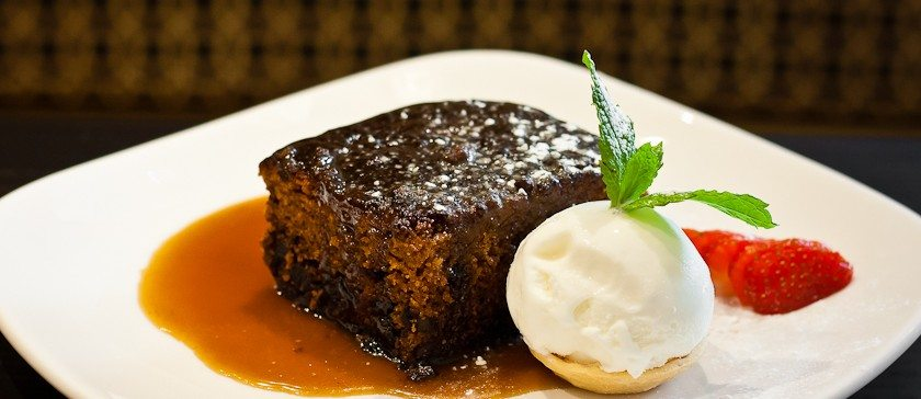 Sticky toffee pudding image