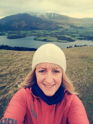 Image of Kathryn on the Lake District Fells