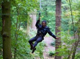 Swinging through Grizedale Forest wtih Go Ape