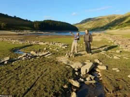 Mardale village revealed in Haweswater