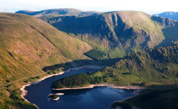 Aerial image of Haweswater