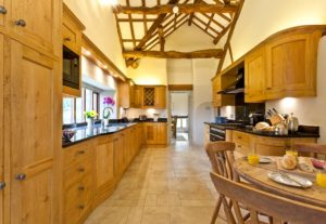 The kitchen at Cartmel Hill