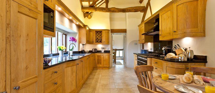 The kitchen at Cartmel Hill