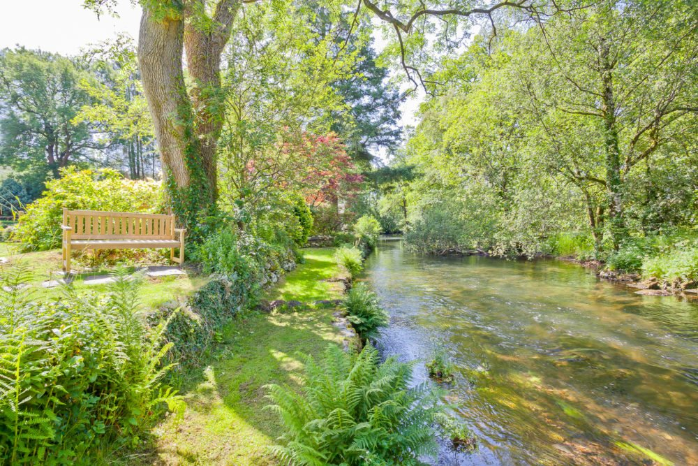 The River Crake at Sawmill Cottage