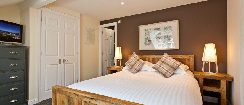 The king sized en-Suite bedroom